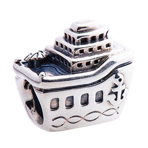 Authentic Pandora All Aboard .925 Silver Charm - 791043 - NEW