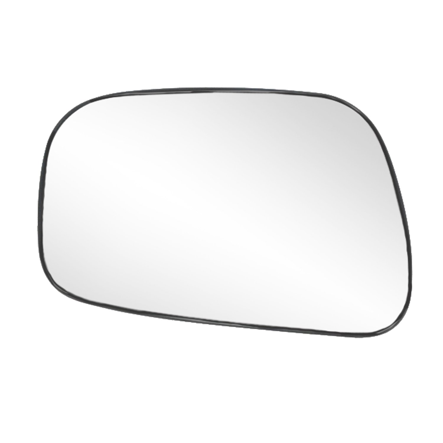 Fit System 88175 Toyota Camry Sedan Left Side Power Replacement Mirror Glass with Backing Plate