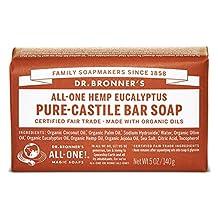 Organic Eucalyptus Bar Soap-140 g Brand: Dr. Bronners Magic Soap