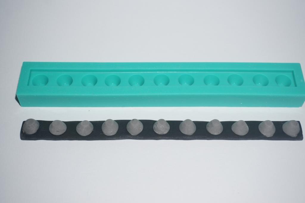 KBK moldes de silicona. moldes de caucho de silicona del molde del sugarcraft de la torta que adorna Artes de la resina formación de hielo Spikes: ...