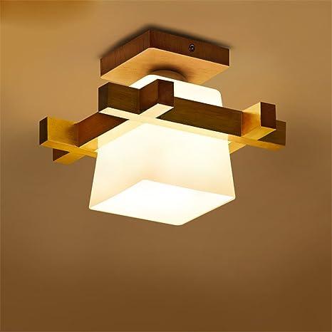 MENGKE E27 Moderno Lámpara de Techo Minimalista Lámpara de ...
