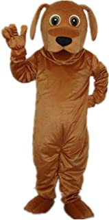 MascotShows Golden Dog Adult Mascot Costume Adult Size Halloween Fancy Dress Suit  sc 1 st  Amazon.com & Amazon.com: MascotShows Haliaeetus White Head Eagle Adult Mascot ...
