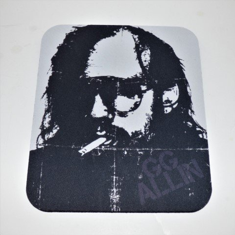 GG ALLIN COMPUTER MOUSE PAD Punk Rock (Punk Rock Mouse Pad)