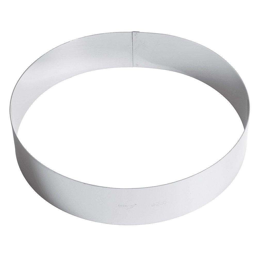 PADERNO - Ice Cream Cake Ring S/Steel