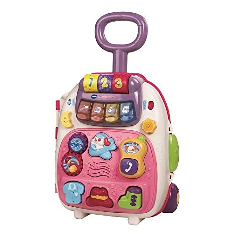 Amazon.com: Vtech Roll & Learn Activity Suitcase - Pink: Toys & Games