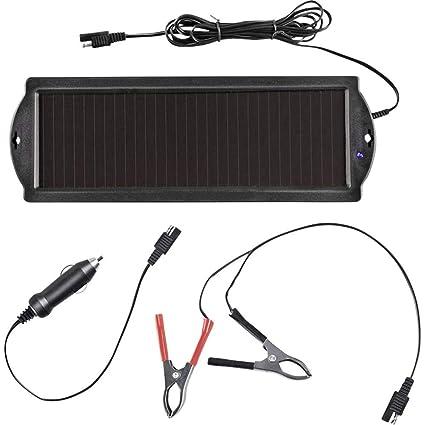 ProPlus Cargador Solar 550059, módulo Solar, Panel Solar, Cargador de batería de 12 V