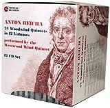 Anton Reicha 24 quintetos de viento de madera en 12 volúmenes