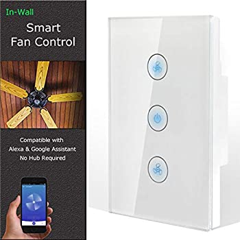Ai Sync Ais Wifi202 Ais Tr100 Smart Ceiling Fan Remote Control With Wi Fi Enabled Amazon Com