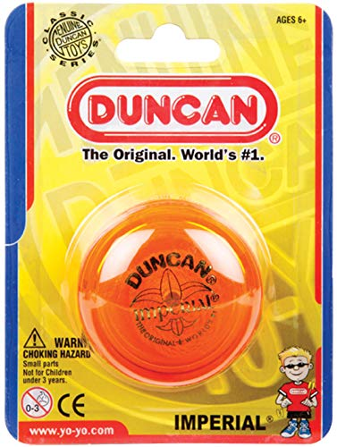 Duncan Imperial Yo Yo , Assorted colors, Pack of 1 ()