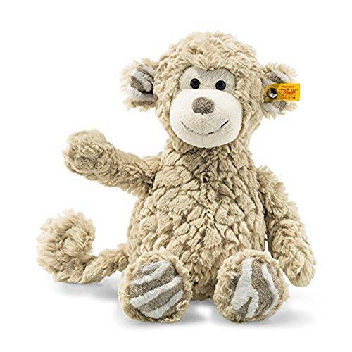 Animals Soft Steiff Plush (Steiff 12 Inch Stuffed Monkey Bingo - Soft and Cuddly Plush Animal Toy)