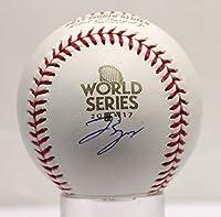 George Springer Autographed Signed Houston Astros World Series MLB Baseball Steiner Sports TriStar Authentic COA & Hologram