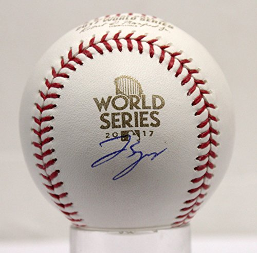 George Springer Autographed Signed Houston Astros World Series MLB Baseball Steiner Sports TriStar Authentic COA & Hologram (Tristar Baseball)