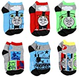 Thomas the Train & Friends Boys 6 pack Socks Set