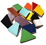 Mosaic Mercantile Crafter's Cut Ceramic Mosaic Tile, 1-Pound, Assorted