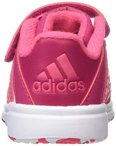 adidas Snice 4 CF I - Zapatillas de Running Niños Blanco / Rosa
