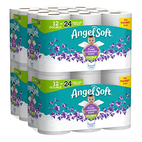 🥇 Angel Soft Toilet Paper with Fresh Lavender Scented Tube