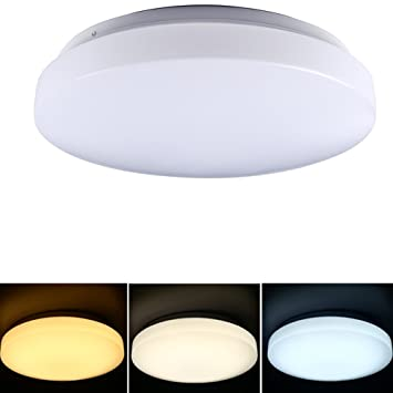 TryLight LED Ceiling LightingColor SwitchableLED Lamp10 Inch