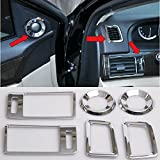 Generic Car Air Condition Vent Cover Trumpet Trim Trims For Honda Accord MK9 2014 2015 2016