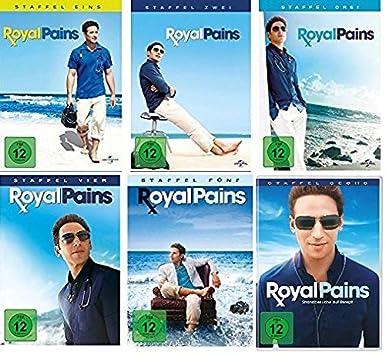 Royal Pains - Staffel 1-6 im Set - Deutsche Originalware [23 DVDs]