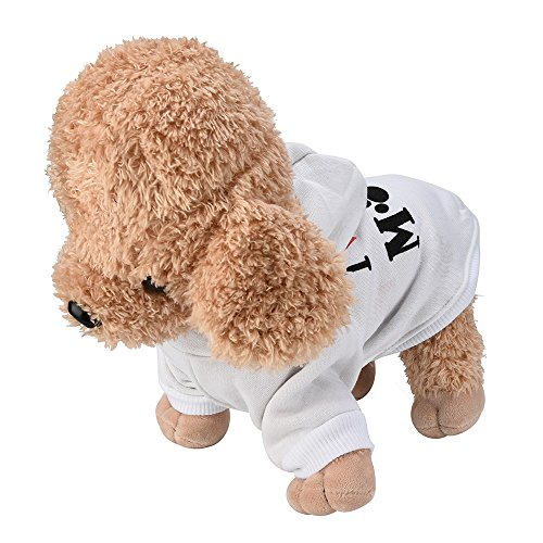 Big Promotion!!Farjing Small Pet Dog Clothes Fashion Costume Puppy Cotton Blend T-Shirt (Matching Costumes For Dog And Owner)