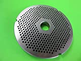 Smokehouse Chef Size #42 x 1/8' FINE grind holes. Stainless Steel for Cabelas, Hobart, LEM, Weston and others
