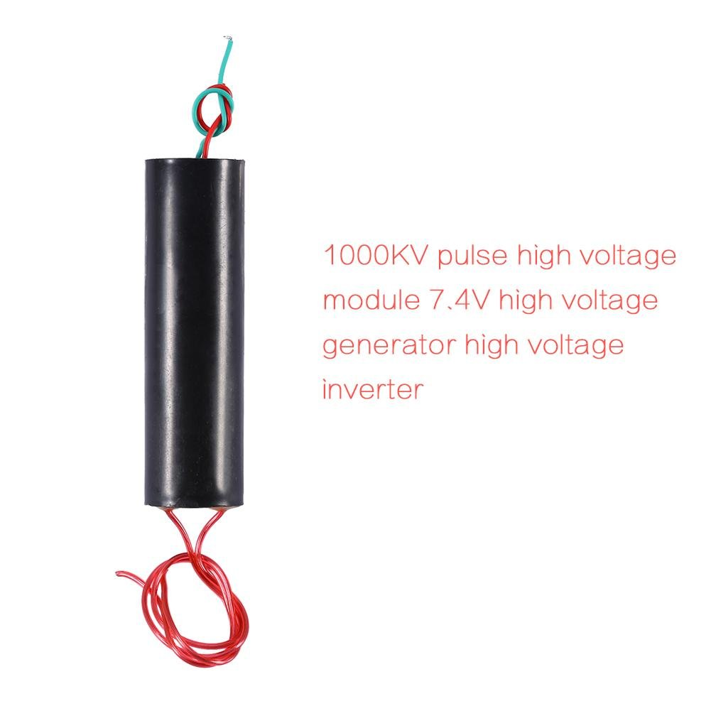800 1000 Kv Ultra High Voltage Pulse Inverter Arc 20kv Dc Flyback Power Supply Circuit Generator Ignition Coil Module Home Audio Theater