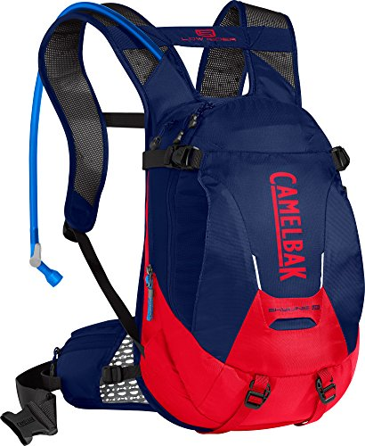 CamelBak Skyline LR 10 100 o Hydration Pack, Pitch Blue/Racing Red