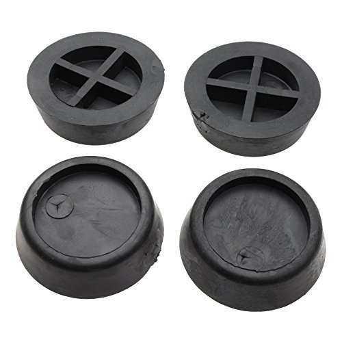First4Spares negro anti-vibración pies para lavadoras ...