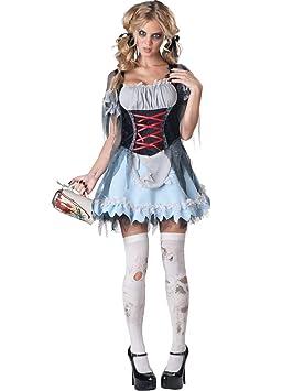 Disfraz zombie bávara mujer Premium L: Amazon.es: Juguetes y juegos