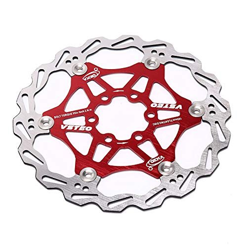 (Uranus - 160mm Bicycle parts Brake Floating Rotor 7075 AL Stainless Steel 6 7 Inches Disc For Mountain Road CX Bike)