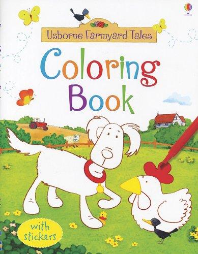 Farmyard Tales Sticker Coloring Book (Usborne Farmyard Tales)