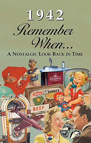 1942 REMEMBER WHEN CELEBRATION KARDLET: Birthdays, Anniversaries, Reunions, Homecomings, Client & Corporate Gifts