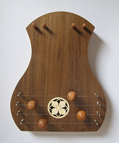 TK O'Brien's Walnut Door Harp with Dogwood - Chime Harp