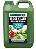 Maxicrop PMKLT4TL Moss Killer and Lawn Tonic, 2.5 Litre, Green