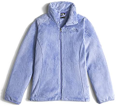 The North Face Osolita Jacket Girls' Grapemist Blue Medium - Hi Loft Fleece Jacket
