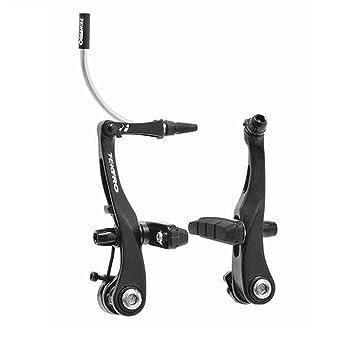 Tektro, RX6, Mini V-Brake, compatible con estándar carretera palancas, para una rueda, negro: Amazon.es: Deportes y aire libre