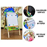 ECR4Kids 3-in-1 Premium Standing Adjustable Art Easel with Accessories for Kids Play Time