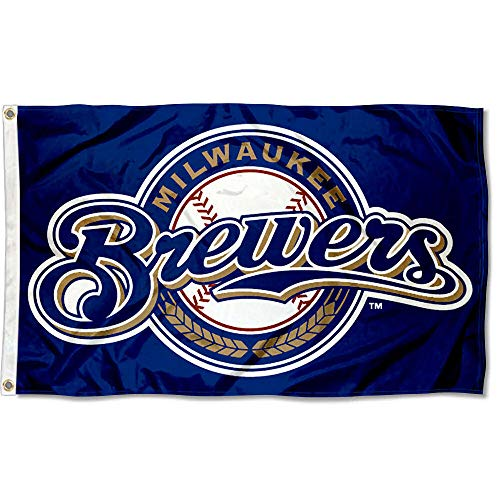WinCraft Milwaukee Brewers Flag 3x5 MLB Banner