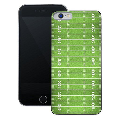 American Football Field | Handgefertigt | iPhone 6 6s (4,7') | Schwarze Hülle