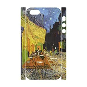 Diy Van Gogh Painting Custom for iphone 5s 3D Shell Phone Case LIULAOSHI(TM) [Pattern-6] by Maris's Diary