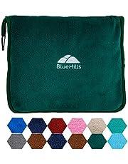 BlueHills Travel Pillow Blanket Compact