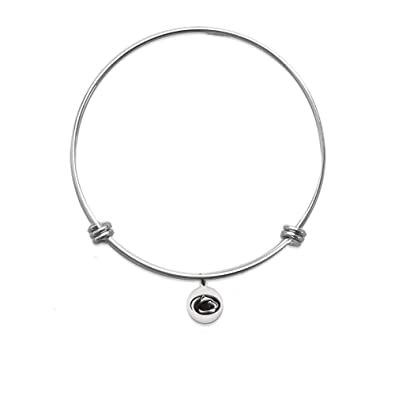 Amazon Com Petite Penn State Nittany Lions Bangle Bracelet With