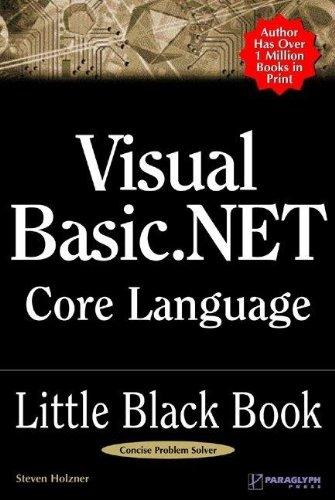 Read Online Visual Basic .NET Core Language Little Black Book PDF
