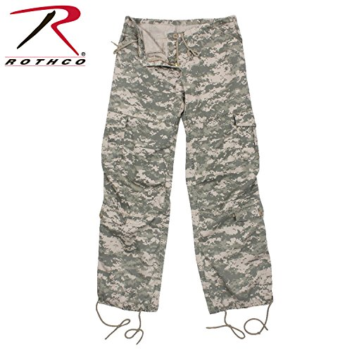 (Rothco Women's Vintage Paratrooper Fatigues in Acu Digital - Medium)