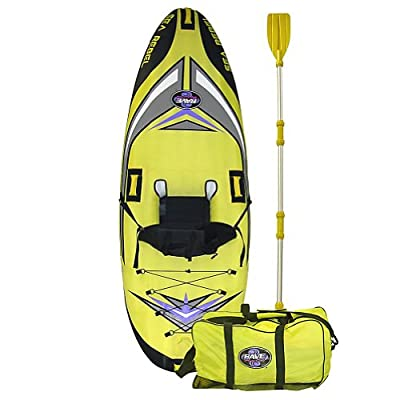 2011 Durable Rave Sea Rebel Inflatable Kayak/Canoe