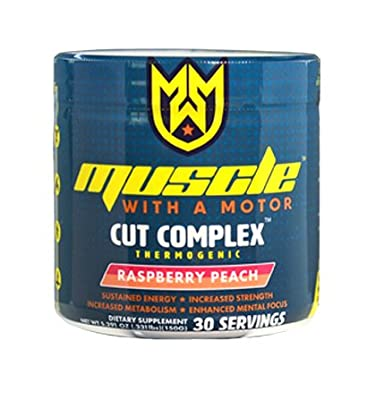 Cut Complex Fat Burner Weight Loss Supplement Thermogenic with All Day Energy, 30 Servings