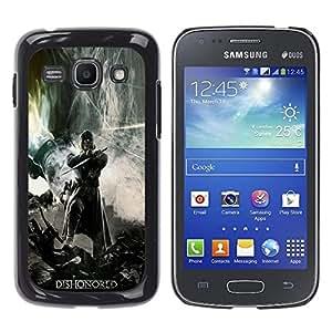 Samsung Galaxy Ace 3 III / GT-S7270 / GT-S7275 / GT-S7272 , Radio-Star - Cáscara Funda Case Caso De Plástico (Dishonor Gaming Hero)