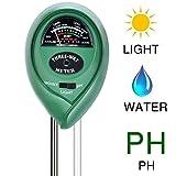 24H SUPER DISCOUNT! 3-in-1 Soil Moisture Meter For Home & Garden. Soil Ph Meter, Soil Water Monitor, Soil Light Sensor, No Batteries! Great For Gardening, Farming, Indoor, Outdoor