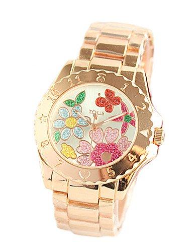 sbsghdx® Reloj mujer décoré serie reloj de cuarzo Belle mesa de moda femenina y animado