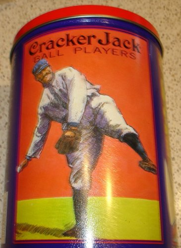 1992 Cracker Jack Baseball Players Limited Edition Tin